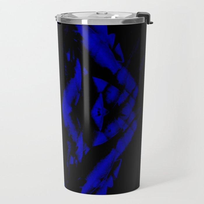 a black and blue snake Travel Mug