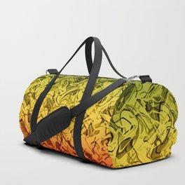 Rasta Fire Duffle Bag