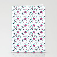 crab Stationery Cards featuring Crab by Ewelina Gaska