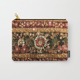 Beaded Indian Saree Photo Carry-All Pouch