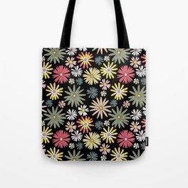 Dusk Wildflowers Tote Bag