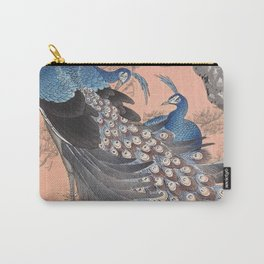 Regal Peacocks  Carry-All Pouch