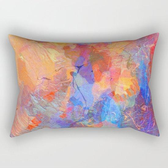 Abstract Texture 06 Rectangular Pillow