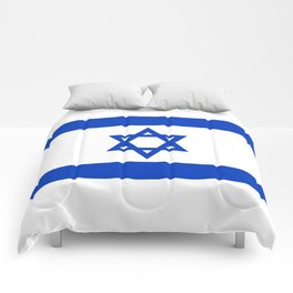 Flag of the State of Israel - High Quality Image Comforters