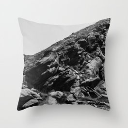 Desert Mountain Throw Pillow