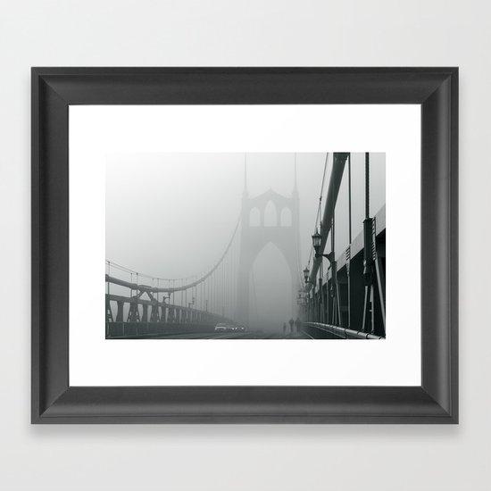 Grey St. Johns Framed Art Print