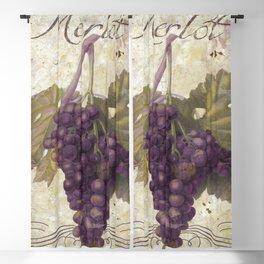 Tuscan Table Merlot Blackout Curtain
