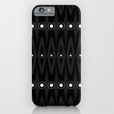 Black pattern iPhone 6s Slim Case