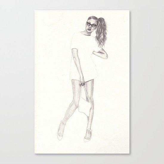 No.2 Fashion Illustration Series Canvas Print