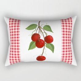 Country Cherries Rectangular Pillow