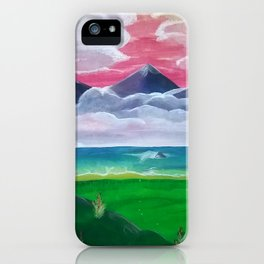 Look Towards the Hills iPhone Case