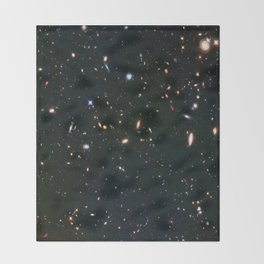 Galaxy Cluster Abell Throw Blanket