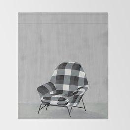 Buffalo Chair Throw Blanket