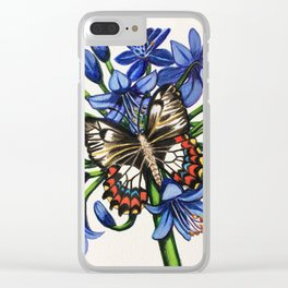 Summer Visitor Clear iPhone Case