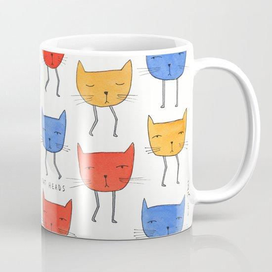 cat heads Mug