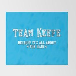 Team Keefe Throw Blanket