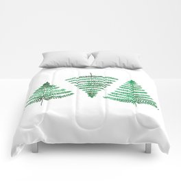 Fiordland Forest Ferns Comforters