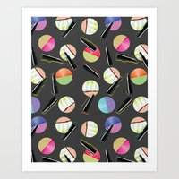Disco Diva: colorful lipstick pattern, fancy, pink text, neon colors, sassy life, sassy since birth, Art Print