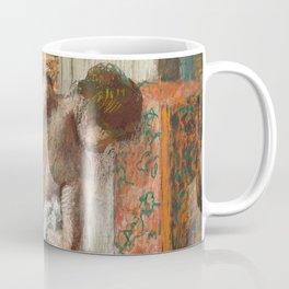 Edgar Degas - Naked lady. Après le bain Coffee Mug