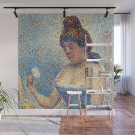 """Georges Seurat """"Young Woman Powdering Herself"""" Wall Mural"""