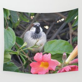 Sparrow in the Vine Wall Tapestry