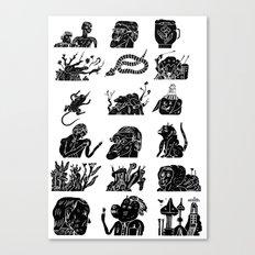 flflf Canvas Print