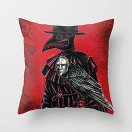 Pandemic buddies  Throw Pillow