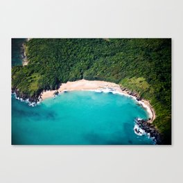 Turquoise Beach Canvas Print