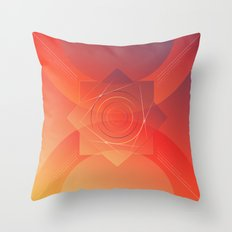 Wake up its morning Throw Pillow
