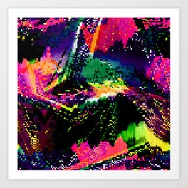 MGC ON Art Print