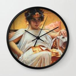 John William Waterhouse Cleopatra Wall Clock
