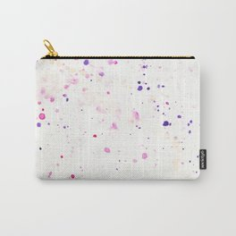 Watercolor Splatter Carry-All Pouch