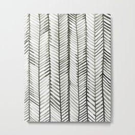Quill Grid Metal Print
