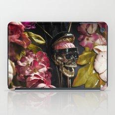 Skull and Peonies iPad Case