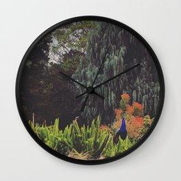 Surveying the Garden Wall Clock