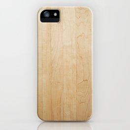Light Wood Texture iPhone Case