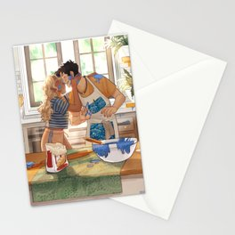 baking percabeth Stationery Cards