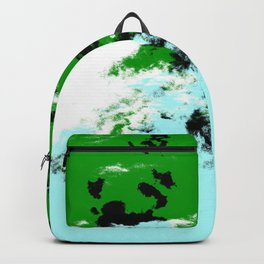 Finada - Abstract Colorful Batik Camouflage Tie-Dye Style Pattern Backpack