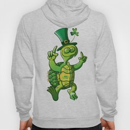 Saint Patrick's Day Green Turtle Hoody