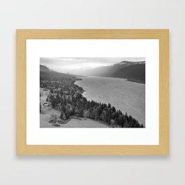 Columbia River Gorge Framed Art Print