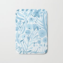 Swept Away Wildflowers Bath Mat