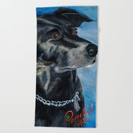 Labrador Love Beach Towel