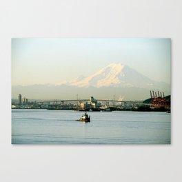 Seattle Tug Canvas Print