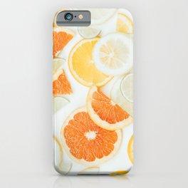 citrus fresh orange twist iPhone Case