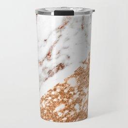 Layers of rose gold Travel Mug
