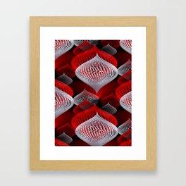 onion pattern -1- Framed Art Print