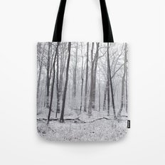 Winter's Woods Tote Bag