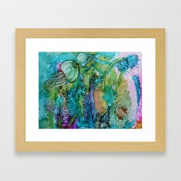Beneath the Sea Framed Art Print