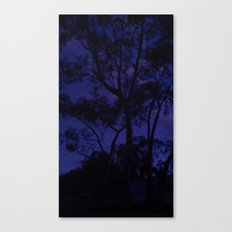 Spooky Trees Canvas Print