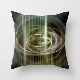 lineae abstracta Throw Pillow